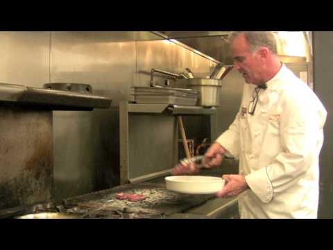 Rib Eye Steak With Blue Cheese Sauce