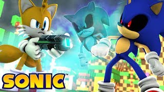 Minecraft - SONIC - TAILS VS SONIC.EXE #16 streaming