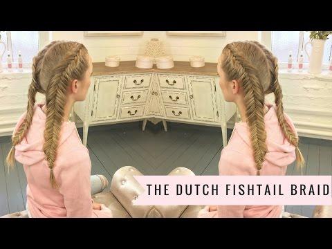 Dutch Fishtail Braid By SweetHearts Hair