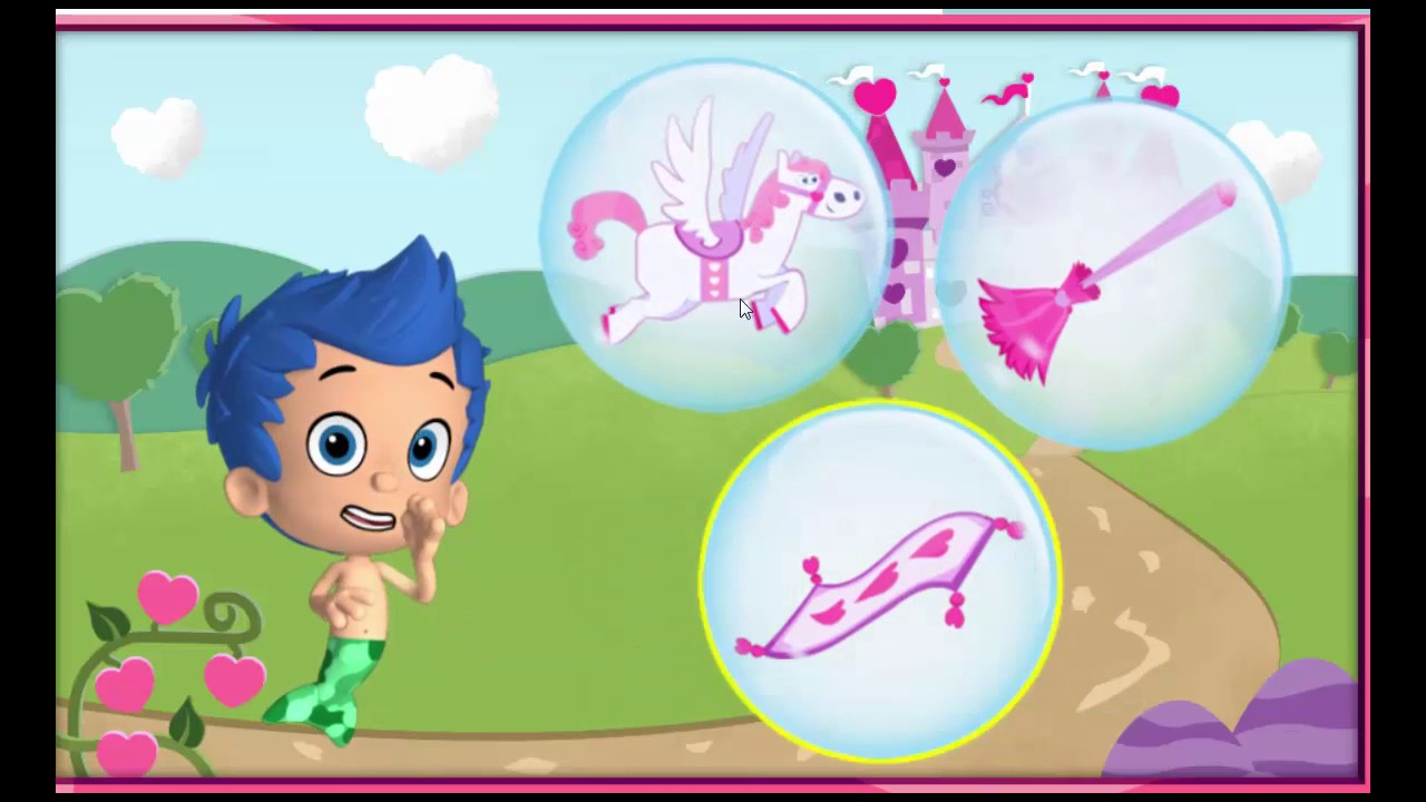 bubble guppies happy valentines bubble guppies video game for kids