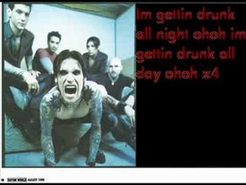 Buckcherry- Too Drunk with lyrics
