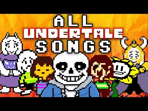 UNDERTALE SONGS (Sans, Chara, Toriel) [TryHardNinja]