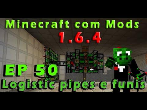 Logistic Pipes e Funis - Minecraft com Mods 1.6.4 EP 50