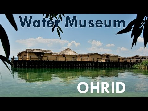 Museum on Water - Bay of the Bones, Ohrid, Macedonia