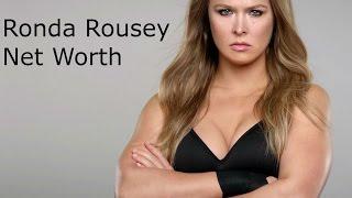 NET WORTH - RONDA ROUSEY