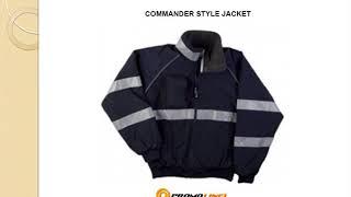 Commander Style Jacket