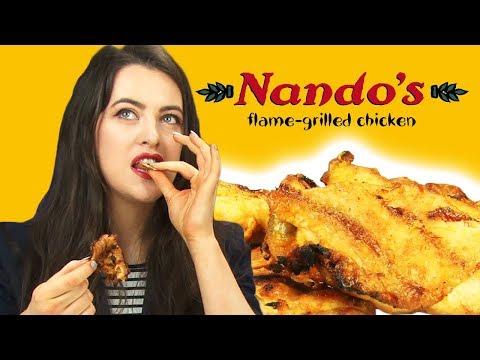 Irish People Taste Test Nandos