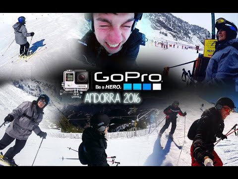 Arinsal, Andorra Ski Trip | GoPro Hero 4