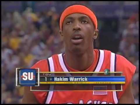 2003 Ncaa Basketball National Championship Syracuse Vs Kansas Youtube