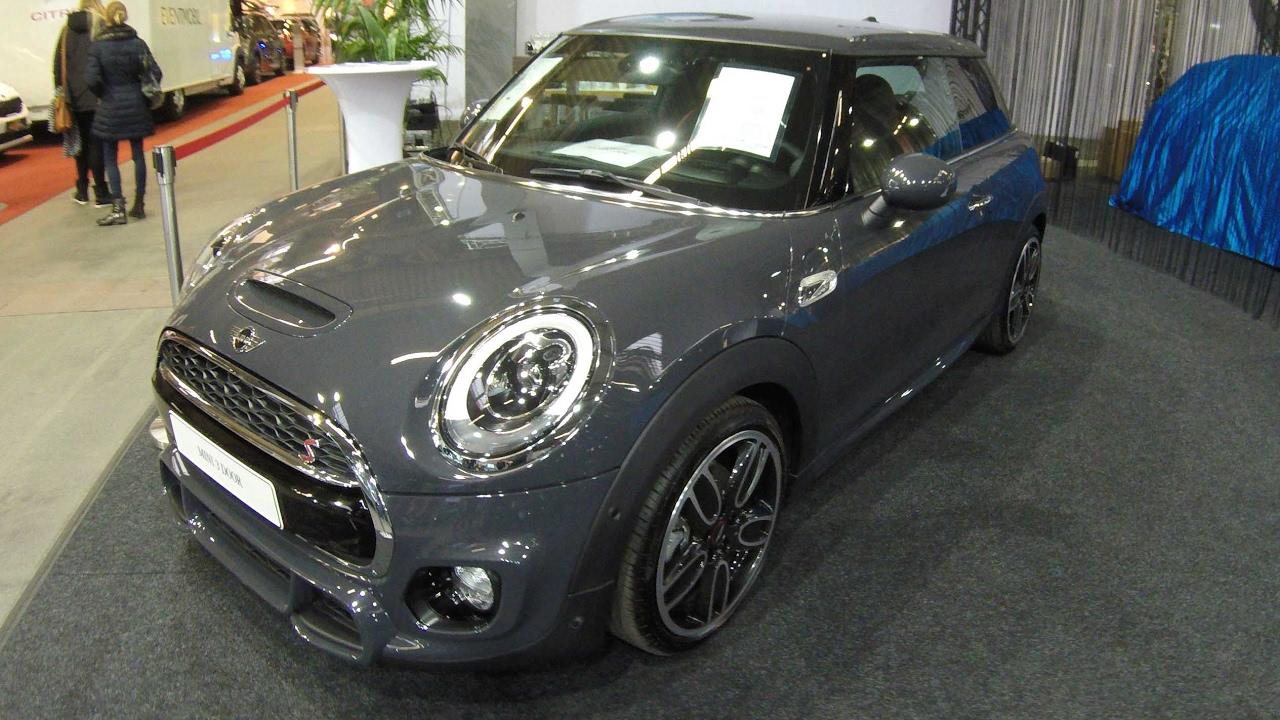 Mini Cooper S 3 Door Thunder Grey Colour New Model