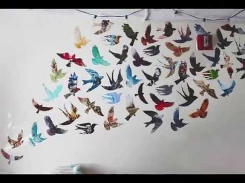 DIY Tumblr Inspired Wall Art