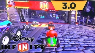 Disney Infinity 3.0 Game-play - Toy Box Speedway