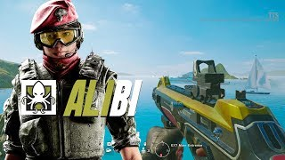 ALIBI GAMEPLAY - Rainbow Six Siege Operation Parabellum DLC thumbnail