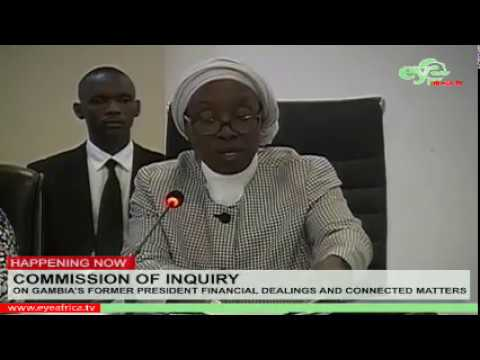 THE COMMISSION OF INQUIRY SITTING OF 23 May, 2018 Part 1