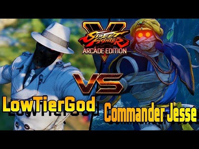 SFV/SF5 AE ? LowTierGod (G) VS  Commander Jesse (Dhalsim) Street fighter V Arcade edition