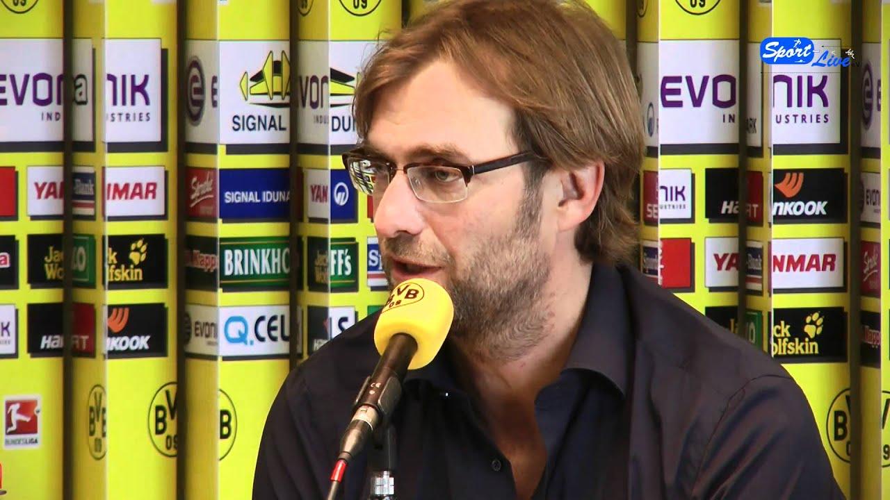 1. FC Köln - Borussia Dortmund : Pressekonferenz vor dem Spiel ( Teil 2 )