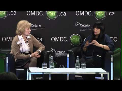 2016 OMDC Digital Dialogue - One-on-One Interview: Trina McQueen in conversation with Nina Sudra