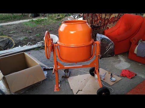 бетономешалка 125 литров пропорции