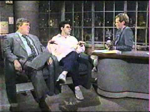 John Candy & Eugene Levy on Letterman, 81386