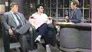 John Candy & Eugene Levy on Letterman, 8/13/86