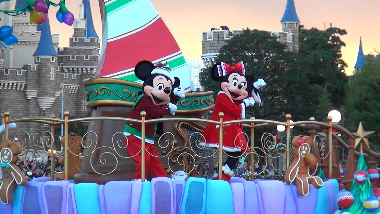 tdl ディズニー・クリスマス・ストーリーズ(2017) tokyo disneyland
