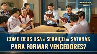 """Filme evangélico """"O camimho para o reino dos céus é perigoso"""" Trecho 6 – Como Deus usa Satanás para fazer o serviço?"""