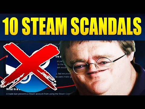 Top 10 Biggest Scams & Scandals On Steam