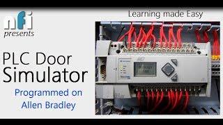 logix pro plc door simulator allen bradley