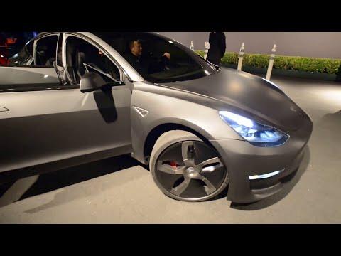Tesla Model 3 Test drive 1080 HD