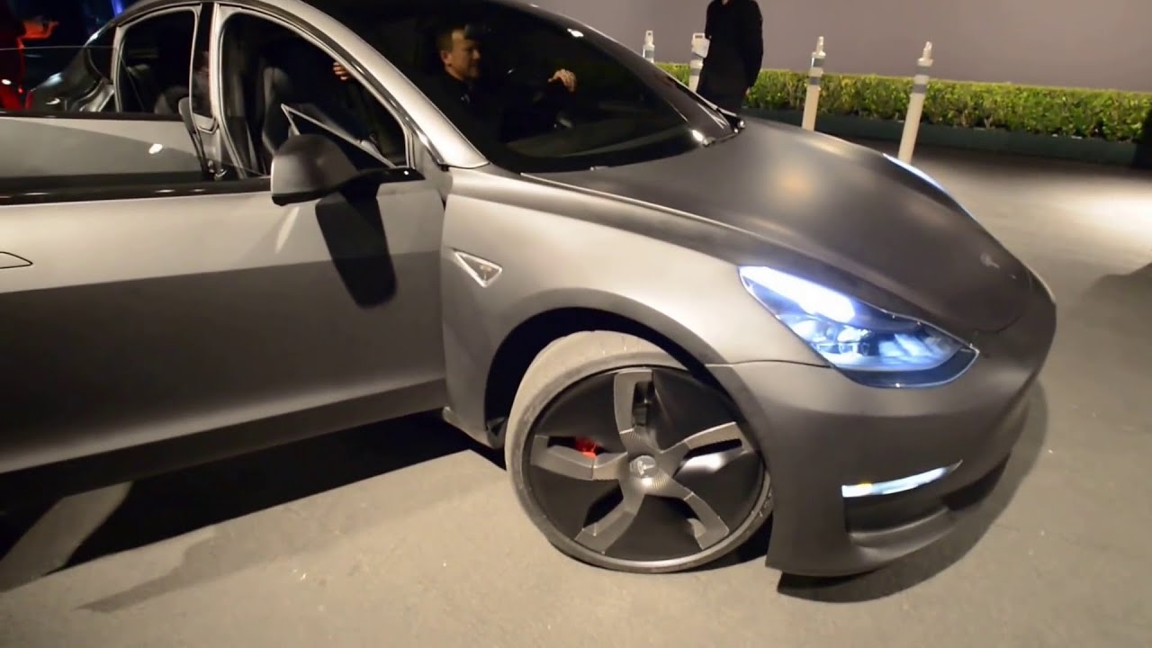 tesla model 3 test drive 1080 hd youtube. Black Bedroom Furniture Sets. Home Design Ideas