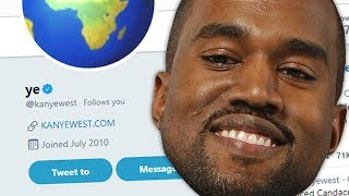 KANYE WEST FOLLOWED ME ON TWITTER... (not clickbait)