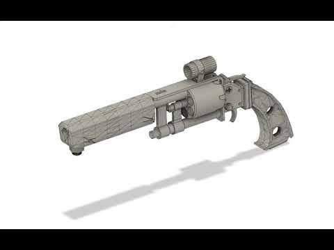 Fallout - Pistolet Pipe Fan Art Pour impression 3D Cosplay