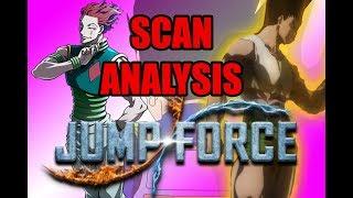 HUNTER X HUNTER SCAN ANALYSIS! | JUMP FORCE Analysis