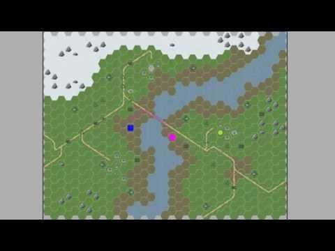 GameplayKit: pathfinding on a hexagonal map