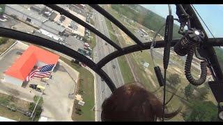 Wild Helo Ride!! Aérospatiale Alouette II Helicopter