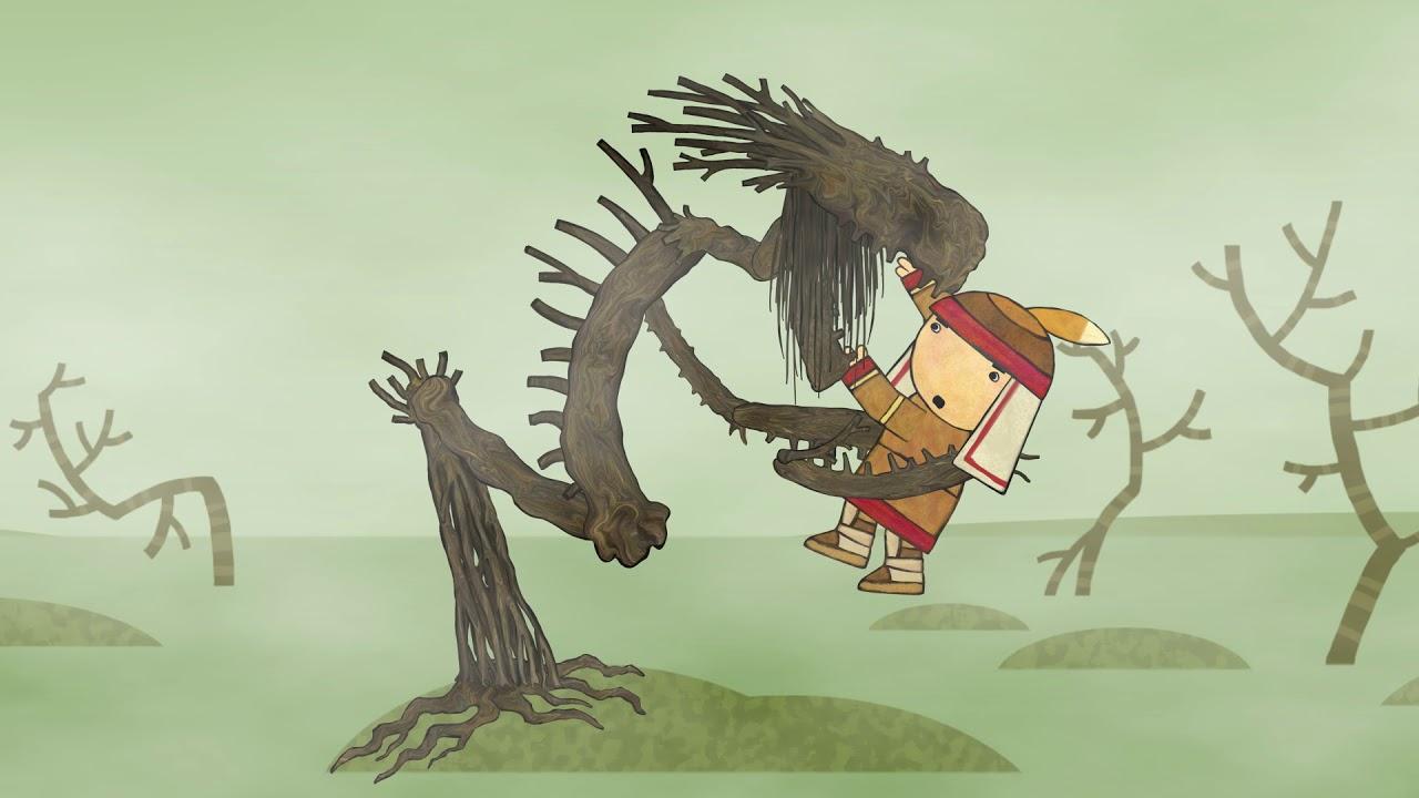 Сказки - Мультики для детей | Гора самоцветов - Храбрец. Удэгейская сказка