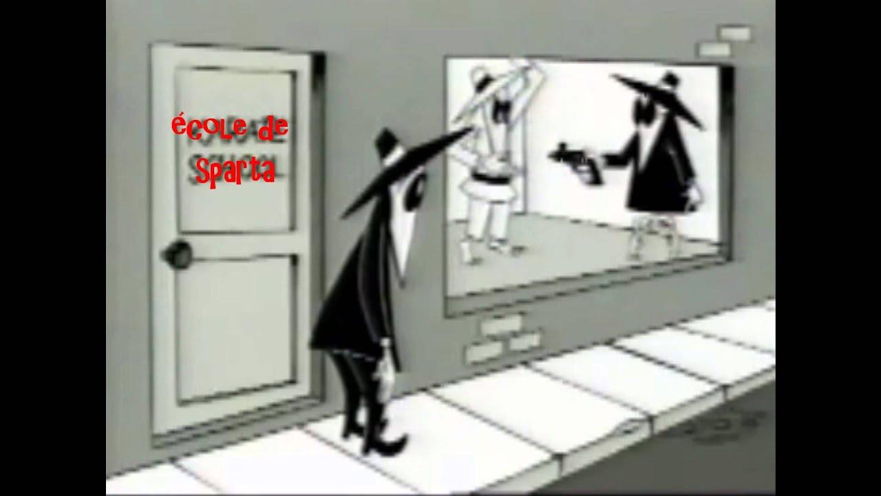 Ytp Fr Spy Vs Spy école De Sparta Youtube