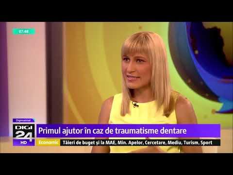 Primul ajutor in caz de traumatisme dentare
