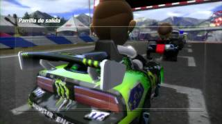 Modnation Racers - Gameplay (Multiplayer)