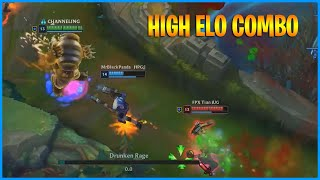 You Must Know This New High Elo Gragas Combo...LoL Daily Moments Ep 1153