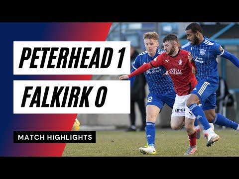 Peterhead Falkirk Goals And Highlights