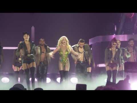 WORK B**CH Britney spear live in bangkok 24/06/2017 by Warm.