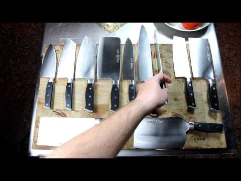 Maestro Wu Bombshell Steel Knives: D-Series
