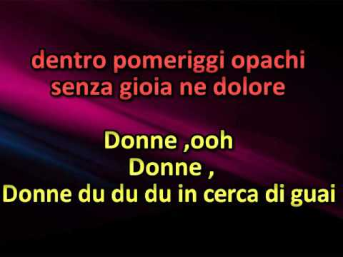Zucchero - Donne with lyrics