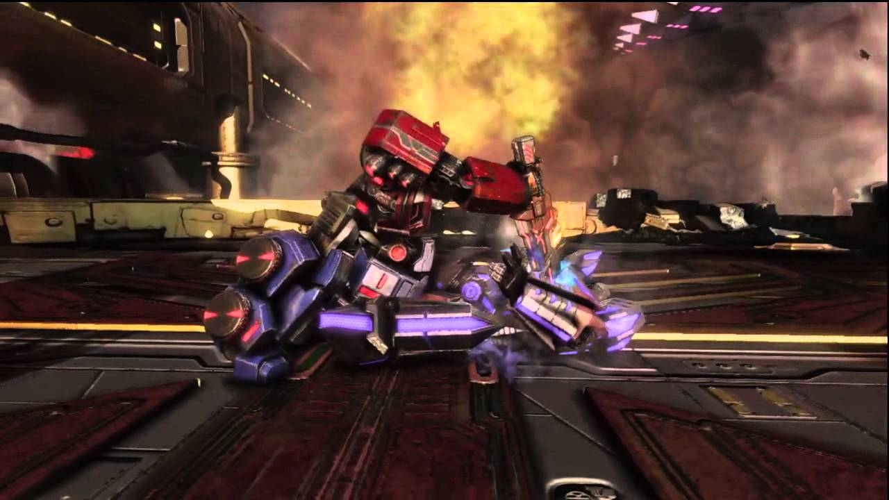 Transformers Animated Wallpaper Transformers Fall Of Cybertron Ending Optimus Prime Vs