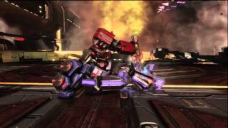 Transformers Fall of Cybertron Ending - Optimus Prime vs Megatron