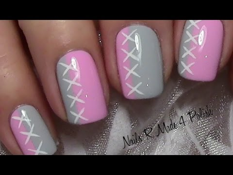 s es schlichtes nageldesign f r kurze n gel lackieren cute nail design for short nails youtube. Black Bedroom Furniture Sets. Home Design Ideas