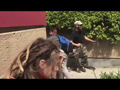 Violent brawl erupts at anti-Trump protest in far-left Berkeley