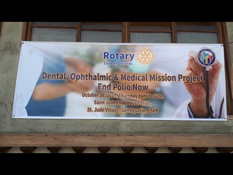 Rotary Club of Dolores Medical Mission October 26, 2017