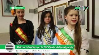 Presentación de las reinas infantiles de Berisso